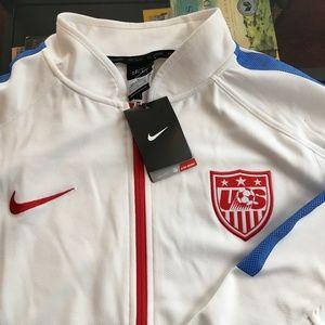 3cdfd0851c3 Nike Jackets   Coats - Nike US Soccer Full Zip DriFit Jacket Team USA